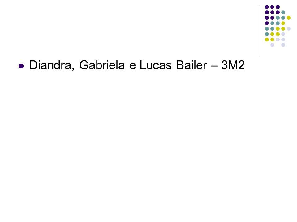 Diandra, Gabriela e Lucas Bailer – 3M2