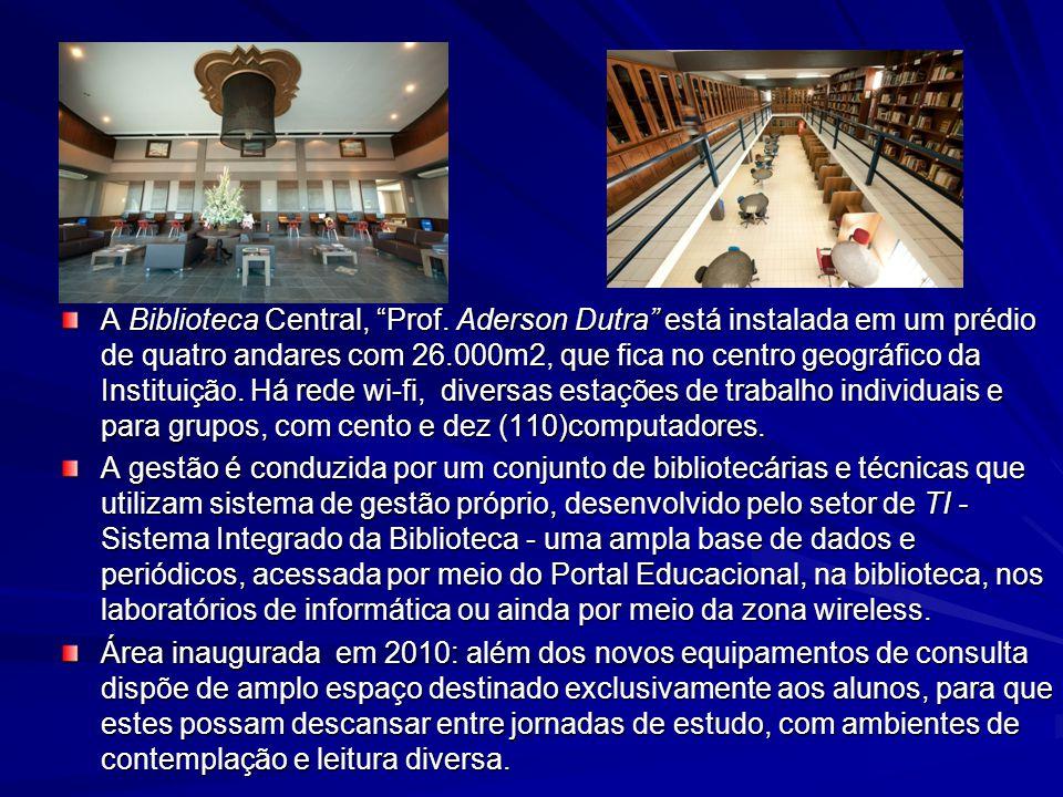 A Biblioteca Central, Prof.