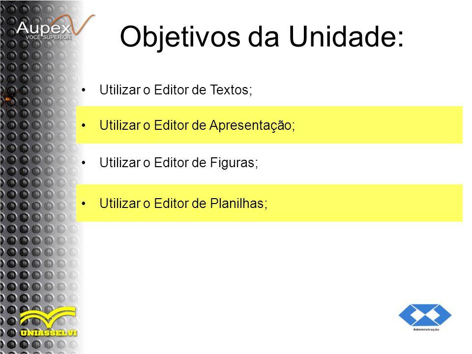 2 Iniciando o Editor de Apresentação Alguns editores de apresentação abrem um quadro de diálogos assim que são executados.