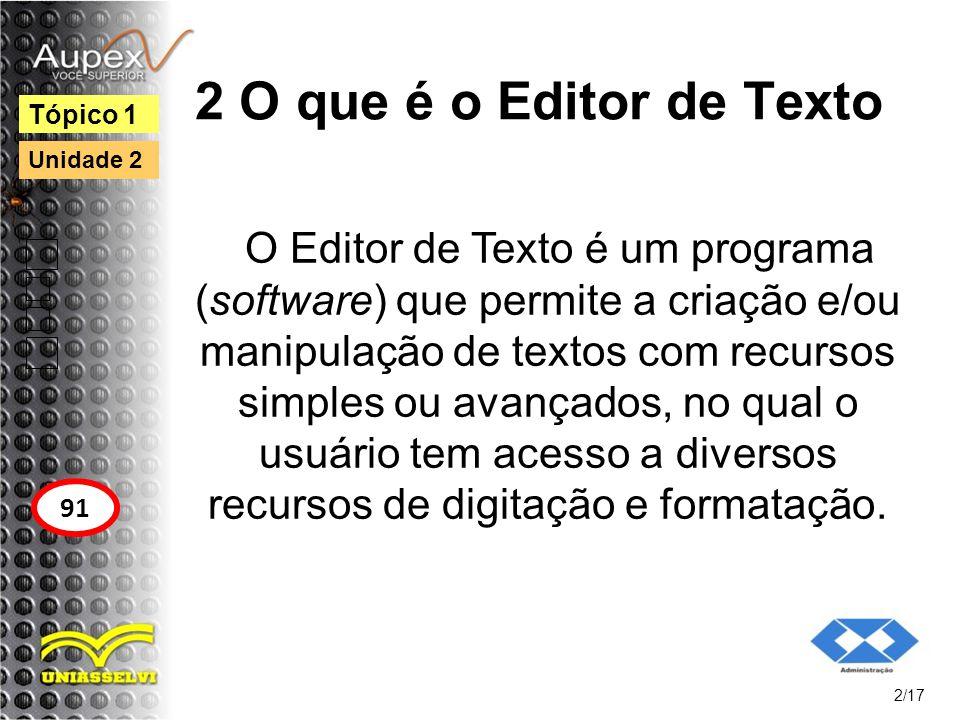 3 Operações com o Texto Para fazer qualquer manipulação de texto (alterar fonte, copiar, recortar etc.), você deve selecionar o texto desejado.