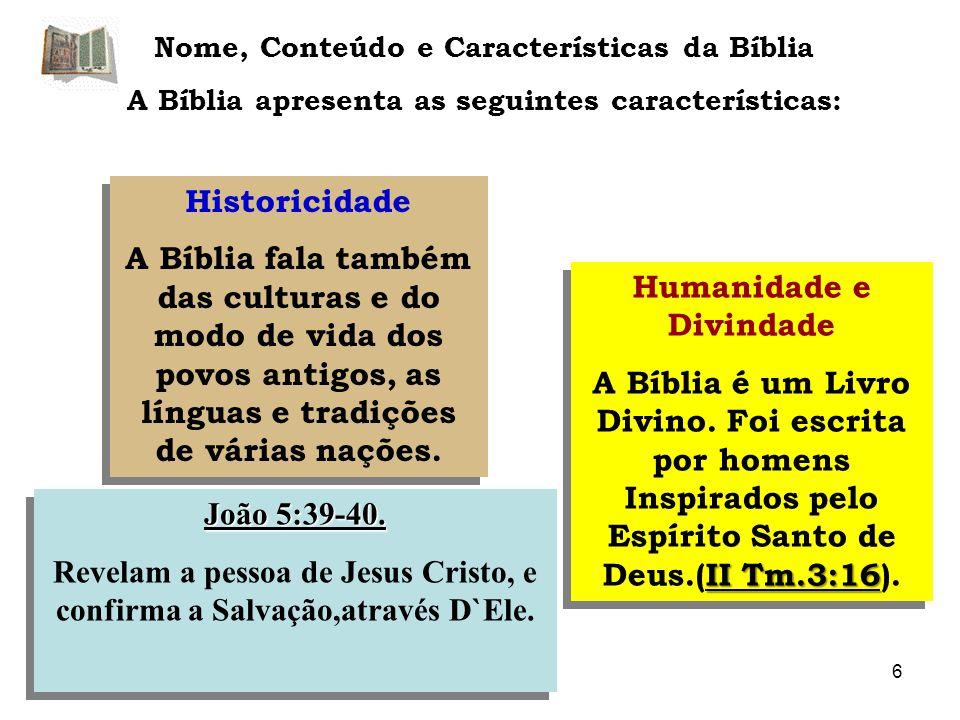 A Canonicidade da Bíblia O Cânon do AT e do N.T.