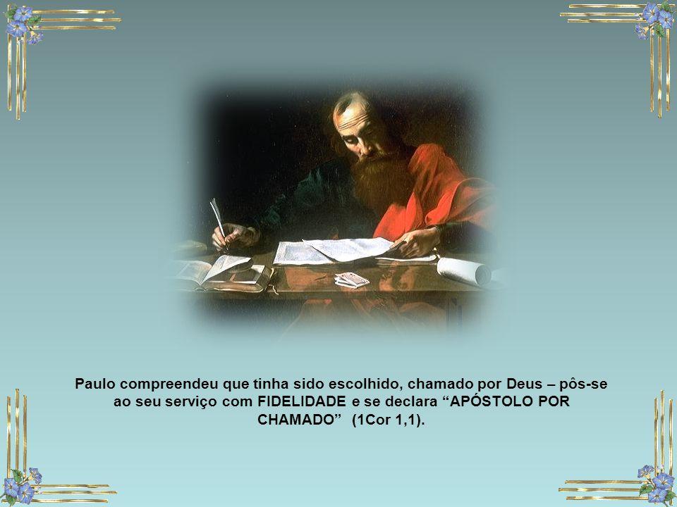 Desde o instante da sua vocação compreendeu que Jesus era o Messias ressuscitado e n'Ele se tinha cumprido as profecias; Creu na Divindade de Cristo d