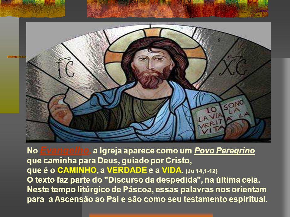 Na 2ª Leitura, Pedro compara a Igreja a um Edifício Espiritual, no qual Cristo é a Pedra angular e os cristãos Pedras vivas .