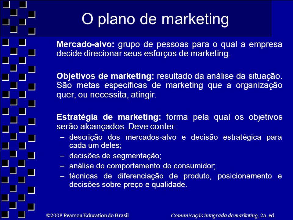 ©2008 Pearson Education do Brasil Comunicação integrada de marketing, 2a.