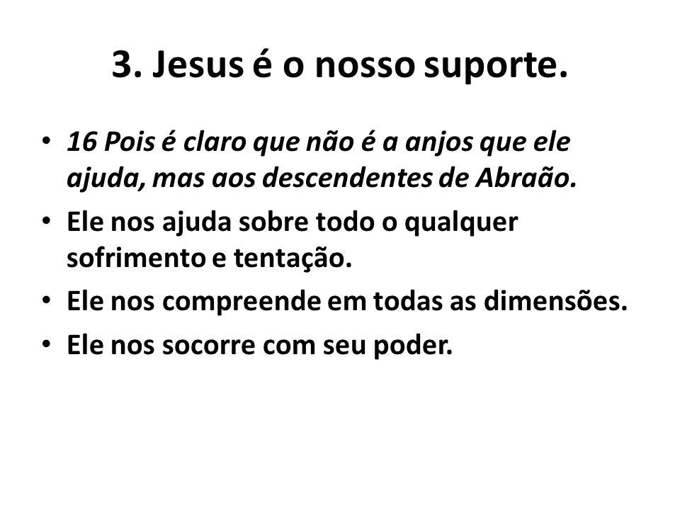 4.Jesus nos substituiu sob todas a penalidades.