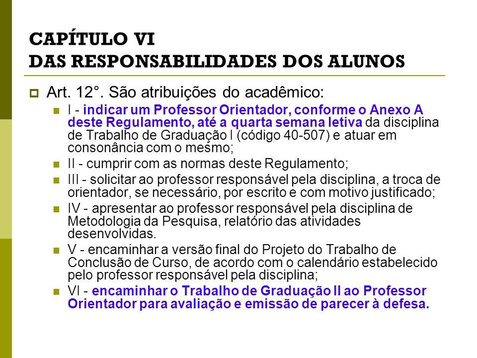 CAPÍTULO VIII DA AVALIAÇÃO  Art.24°.