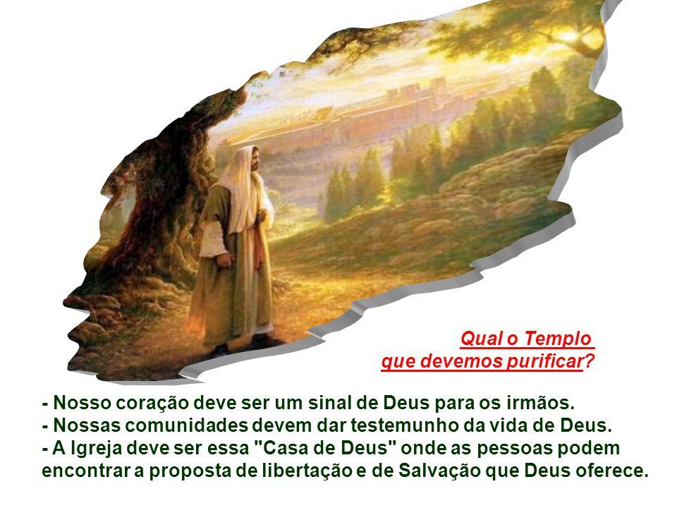 para chegar ao Senhor ressuscitado, o templo verdadeiro em quem Deus manifesta a sua glória em favor de todos os homens.