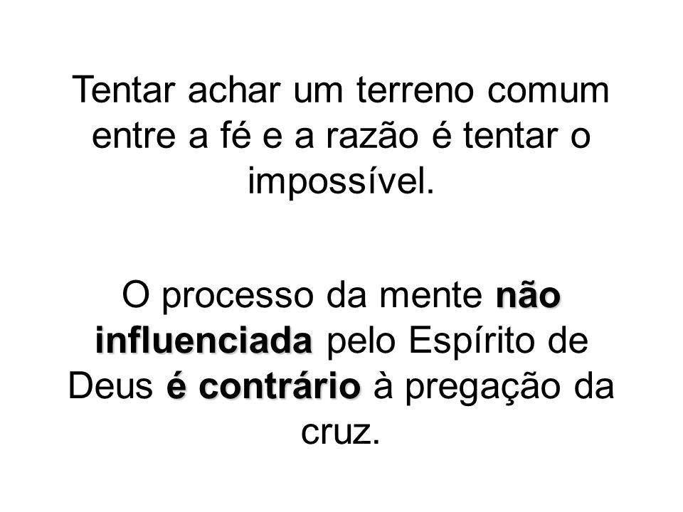 a mensagem da cruz é loucura é o poder de Deus  (...) a mensagem da cruz é loucura para os que estão perecendo, mas para nós, que estamos sendo salvos, é o poder de Deus.