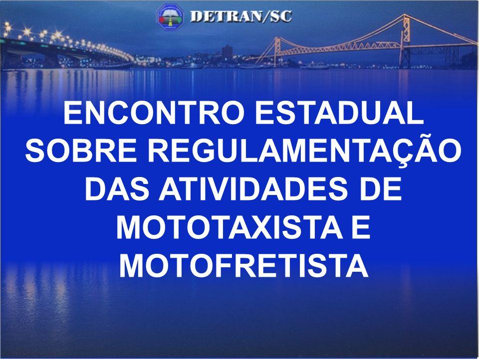 O Papel do DETRAN nos serviços de Mototaxi e Motofrete Graziela Maria Casas Blanco