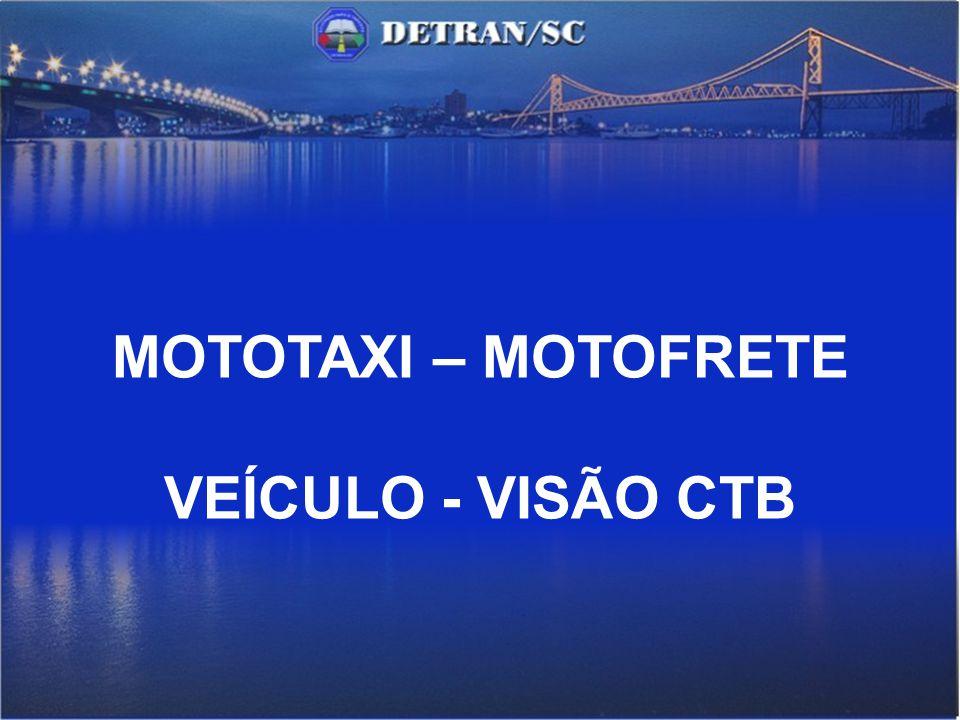 CAPÍTULO XIII-A DA CONDUÇÃO DE MOTO-FRETE (Incluído pela Lei nº 12.009, de 2009) Art.