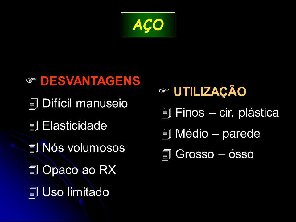  UTILIZAÇÃO 4 Finos – cir.