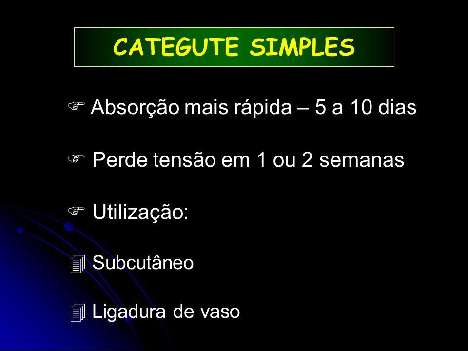 PADRÕES DE SUTURAS