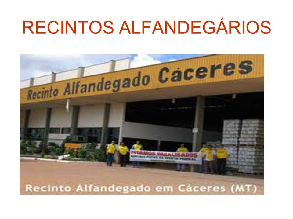 RECINTOS ALFANDEGÁRIOS
