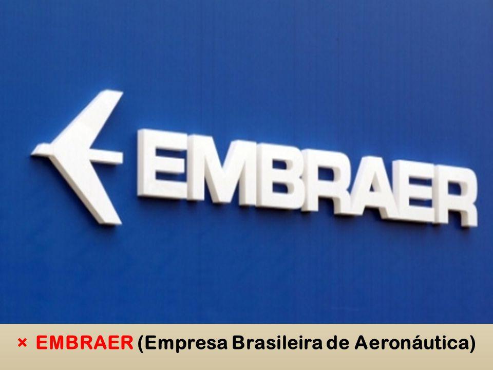 ×EMBRAER (Empresa Brasileira de Aeronáutica)