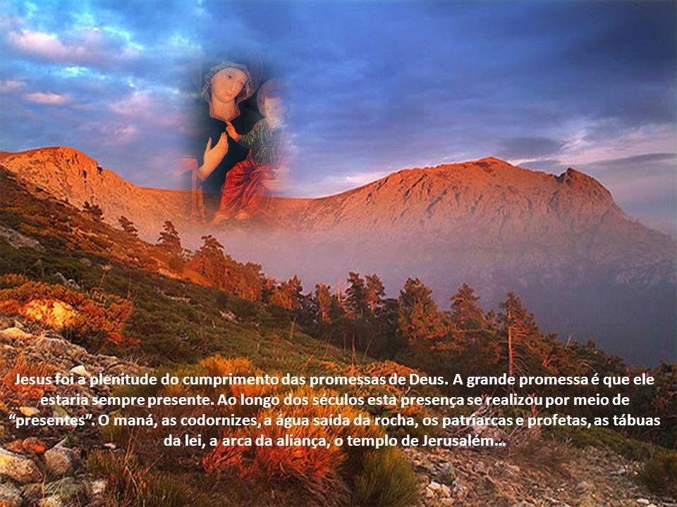 Em Maria se cumpriu aquilo que fora prometido a todos os patriarcas.