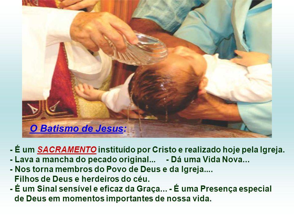 O Batismo de João, que Jesus recebeu, não é a mesma coisa do Batismo que Jesus instituiu e mandou os apóstolos a realizarem... O de João era apenas um