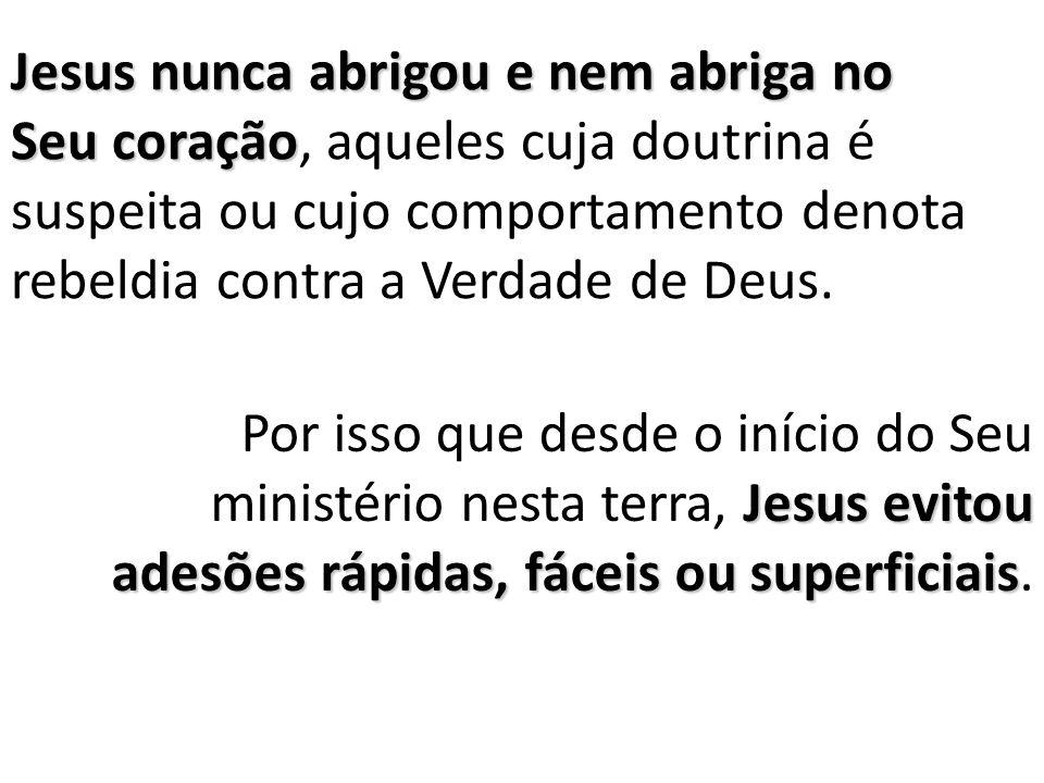 Imagine Jesus falando dessa forma a alguém que era um mestre religioso.