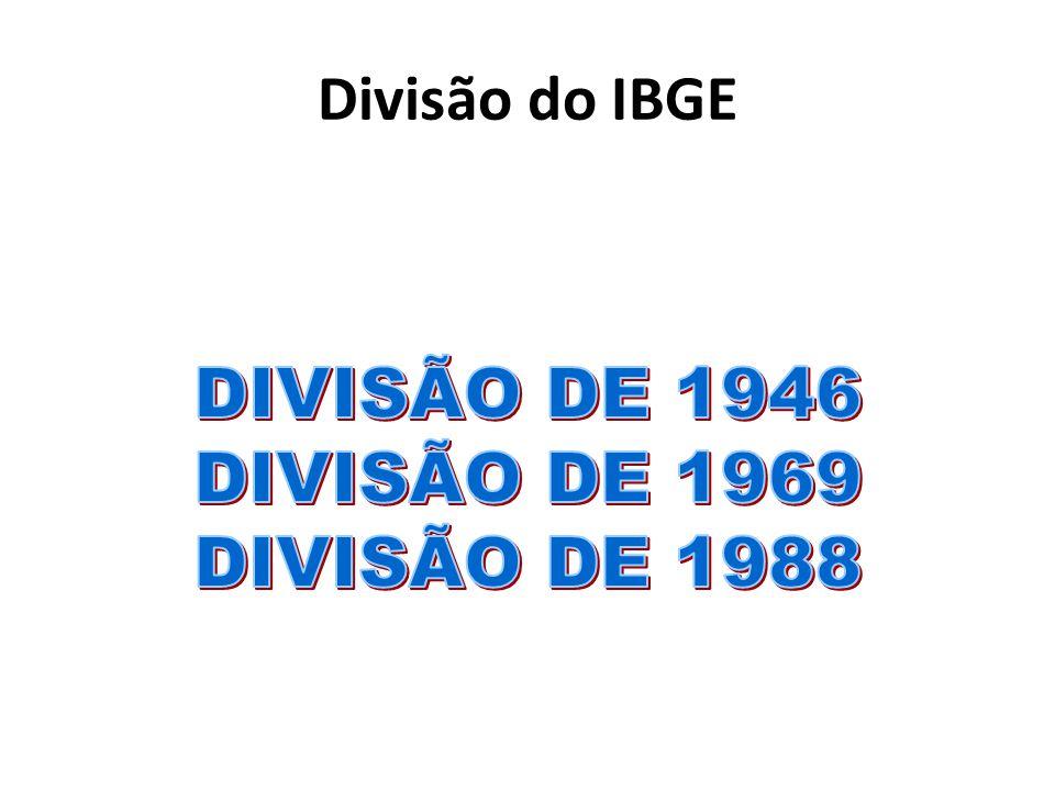 Divisão do IBGE