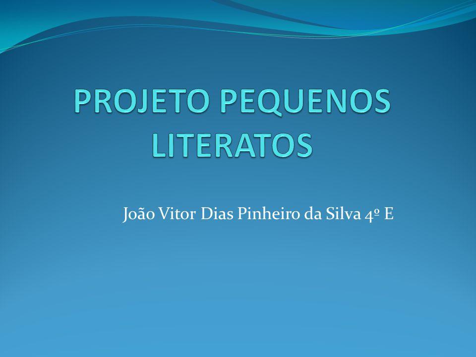 João Vitor Dias Pinheiro da Silva 4º E