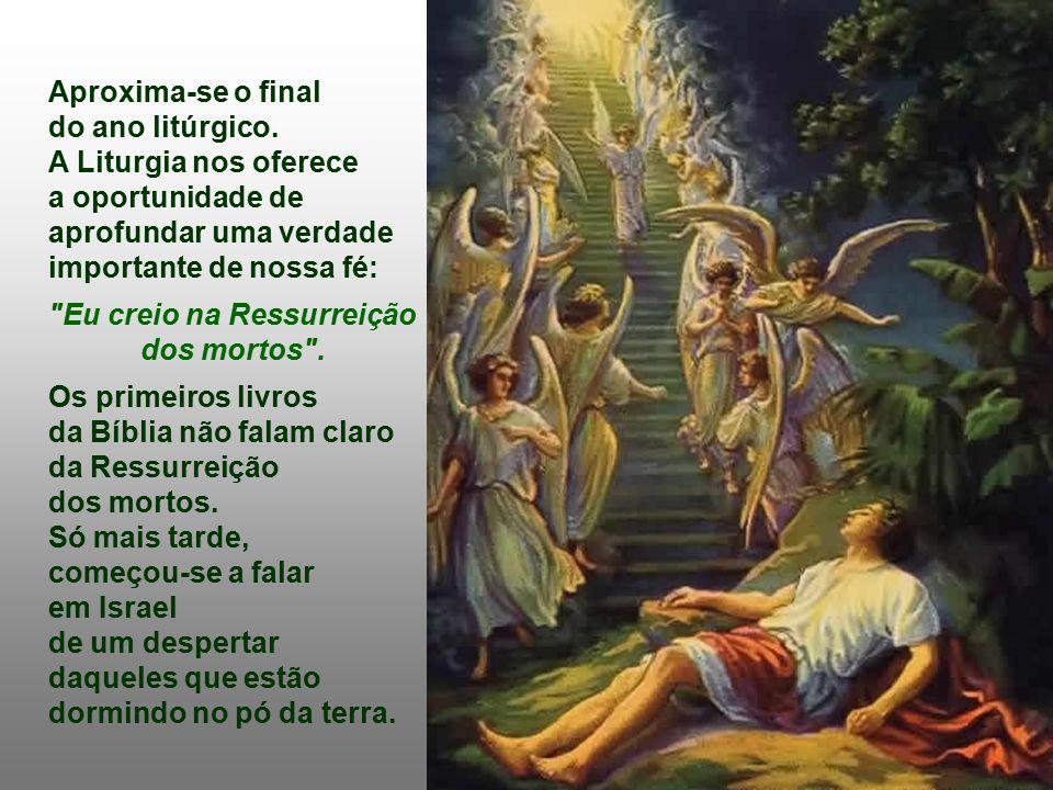 A Liturgia nos apresenta uma verdade consoladora: Viemos de Deus e, com a morte, voltamos para ele.
