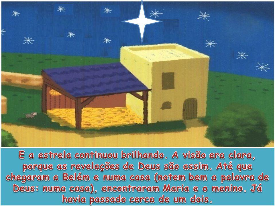 O povo de hoje manda cartões de Natal, pura idolatria, com Maria, José, os pastores e os magos e dizem que eram três os magos, mas a Bíblia não diz quantos eram.