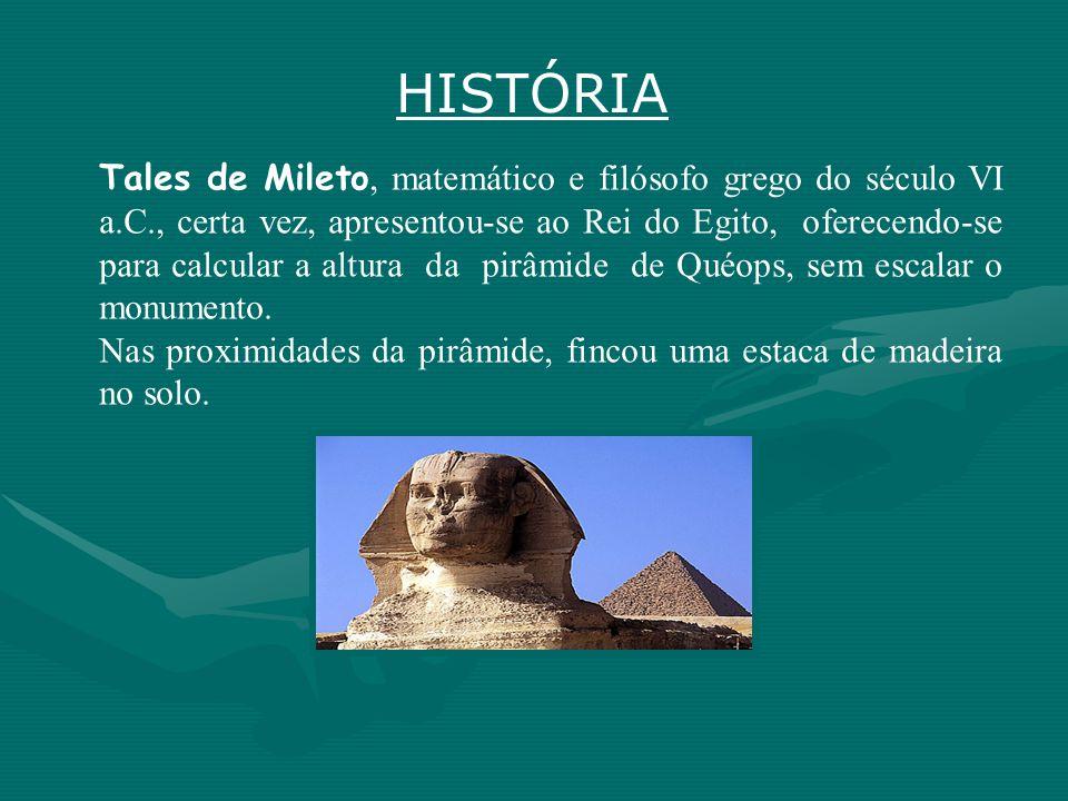 Triângulos Semelhantes na Antiguidade