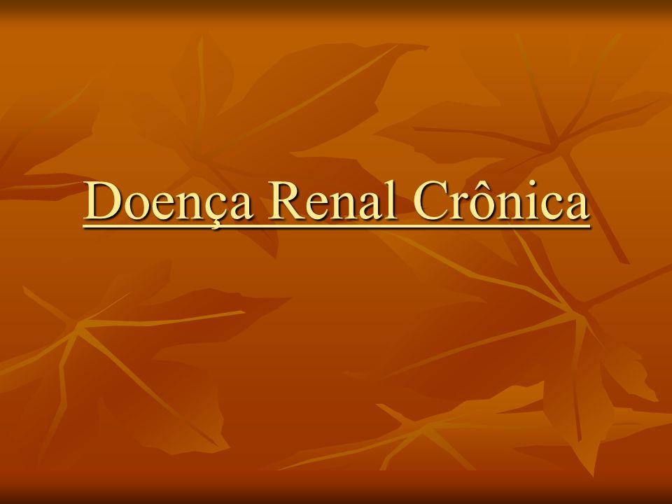 Síndrome Urêmica Neurológica Central Sonolência, coma Diver.