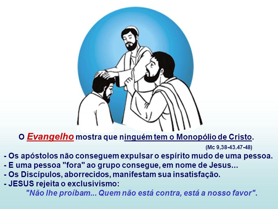 Todos os batizados receberam a missão de santificar os ambientes onde vivem e trabalham.