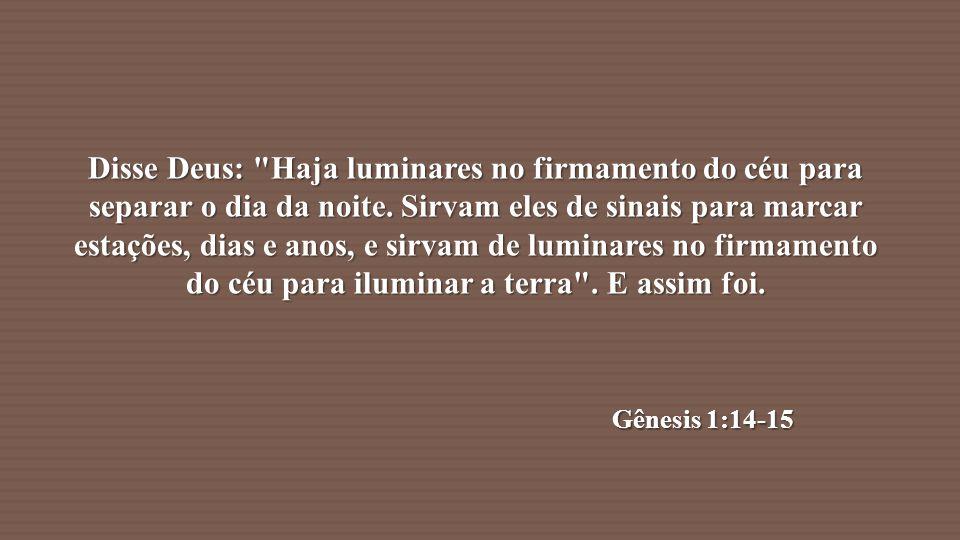 Disse Deus: