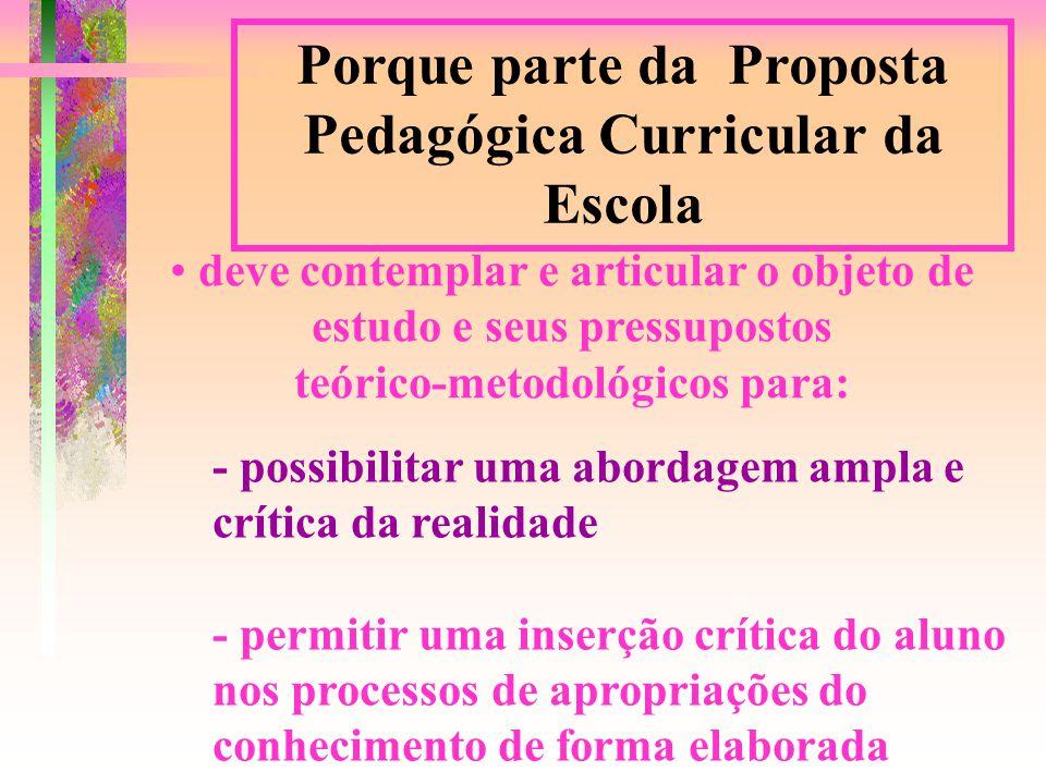 - superar visões espontaneistas do conhecimento - exigir rigor conceitual, metodológico e avaliativo por parte dos docentes e discentes