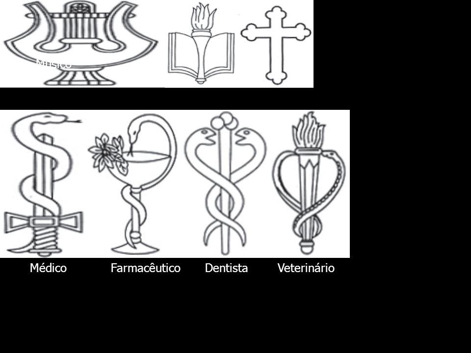 Músico Assist. Religiosa Médico Farmacêutico Dentista Veterinário