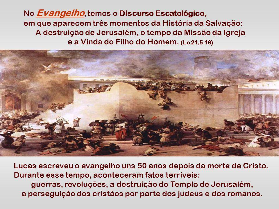 A 2ª Leitura fala da comunidade de Tessalônica, perturbada por fanáticos que pregavam estar próximo o fim do mundo.