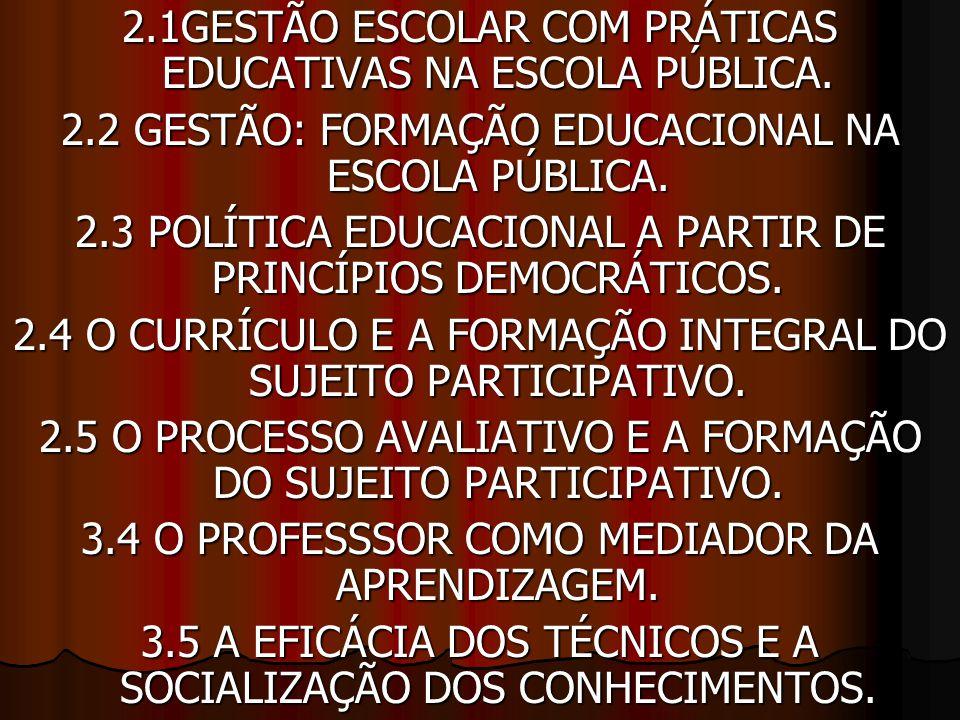 3.6 OS ALUNOS E SUAS INTERAÇÔES NO PROCESSO DE CONSTRUÇÃO DA CIDADANIA.