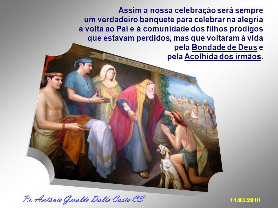 + O Evangelho de hoje nos convida a imitar o gesto do Pai: - que respeita a liberdade e as decisões dos seus filhos... - que continua a amar e a esper