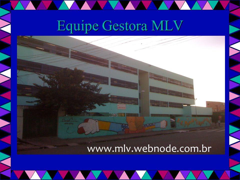 Equipe Gestora MLV www.mlv.webnode.com.br