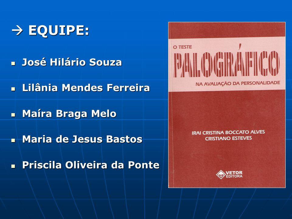 REFERÊNCIA BIBLIOGRÁFICA ALVES, I,C.B.A e ESTEVES, C.