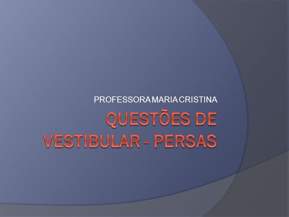 PROFESSORA MARIA CRISTINA