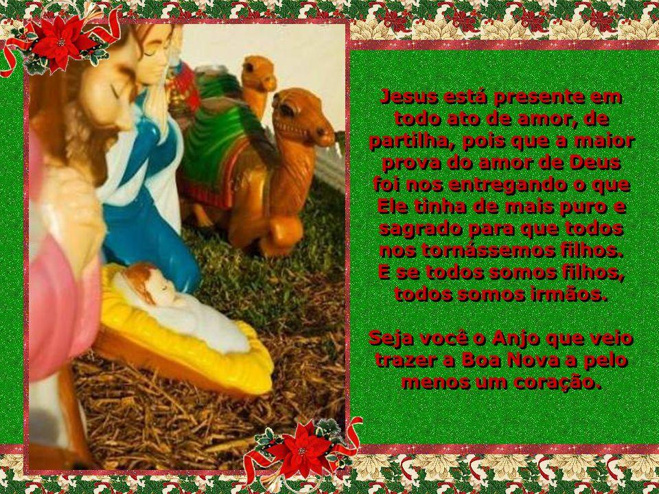 Jesus nasceu para nos unir.