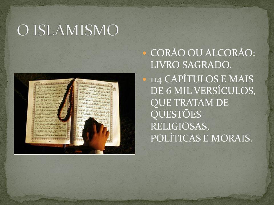 CORÃO OU ALCORÃO: LIVRO SAGRADO.