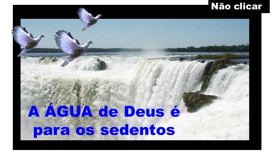 Os sedentos podem celebrar gratuitamente, com Deus, uma ALIANÇA PARA SEMPRE.