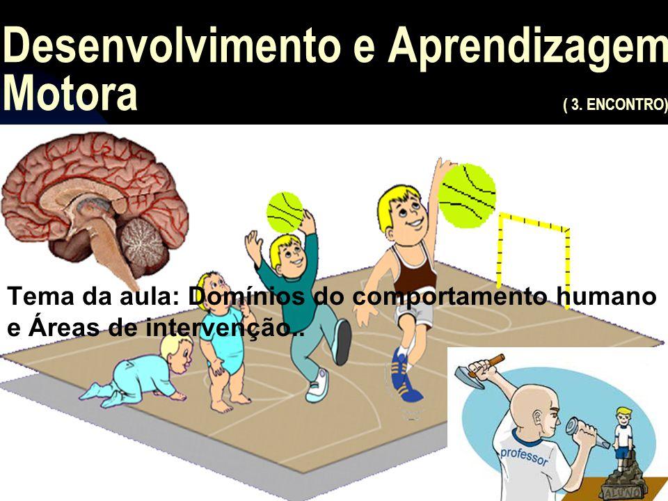 Desenvolvimento e Aprendizagem Motora ( 3.