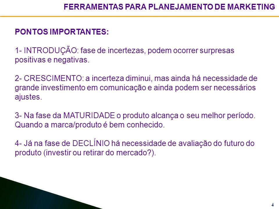 4 PONTOS IMPORTANTES: 1- INTRODUÇÃO: fase de incertezas, podem ocorrer surpresas positivas e negativas.