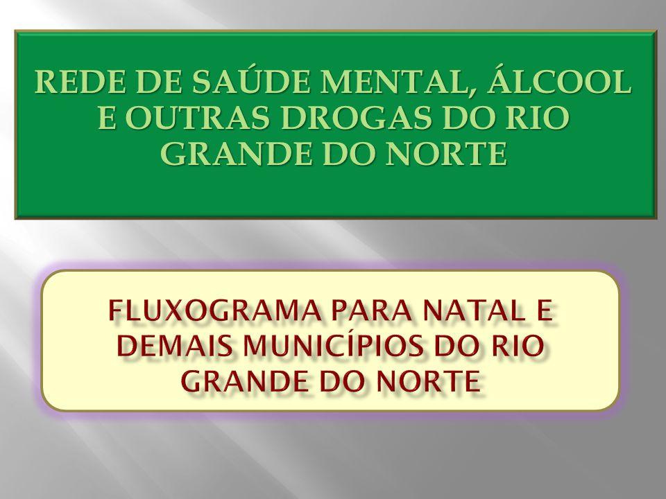 REDE DE SAÚDE MENTAL, ÁLCOOL E OUTRAS DROGAS DO RIO GRANDE DO NORTE