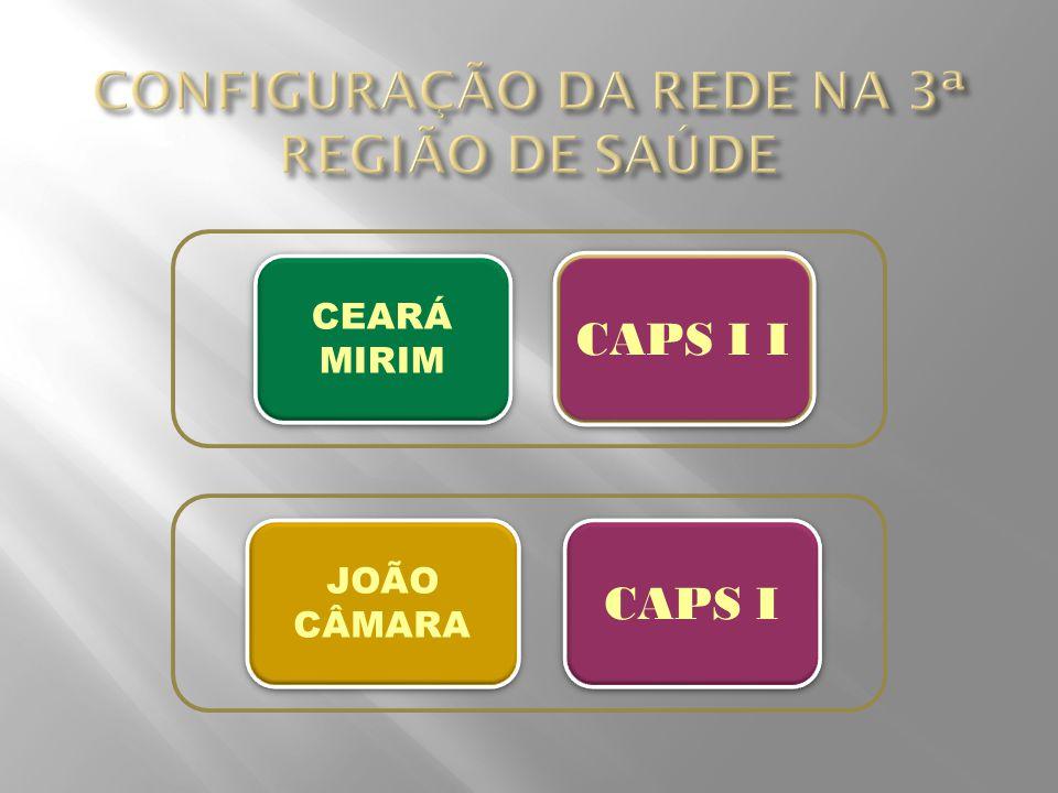 CEARÁ MIRIM CEARÁ MIRIM CAPS I I CAPS I JOÃO CÂMARA
