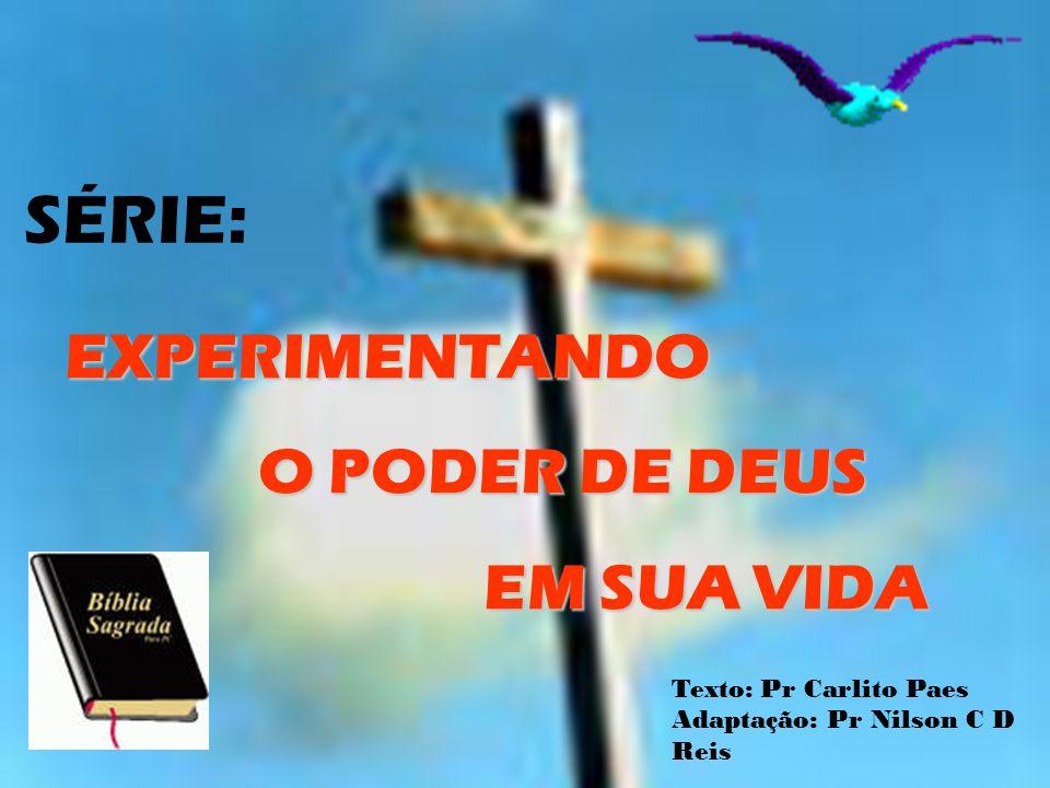 NA MEDIDA EM QUE VOCÊ FOR CRESCENDO NO CONHECIMENTO DA PALAVRA VOCÊ TAMBÉM APRENDERÁ A SER SERVO DE JESUS