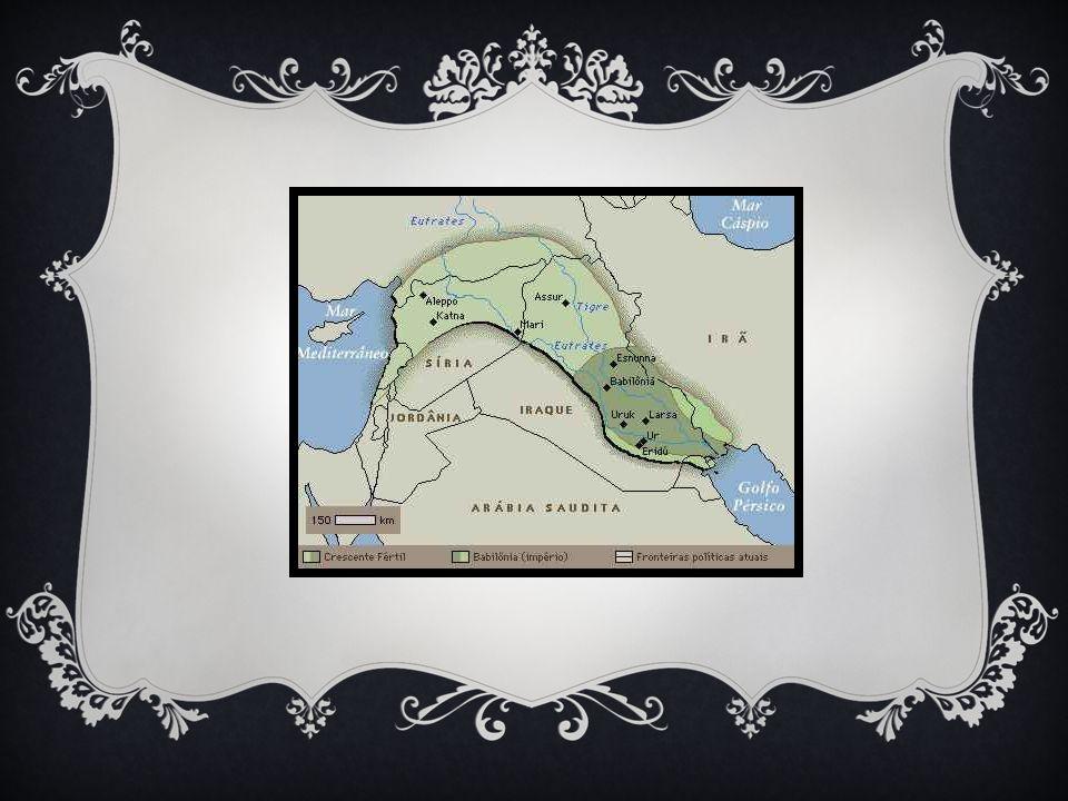 Povos que habitaram a região: Sumerianos Acadianos Babilônios Assírios Caldeus