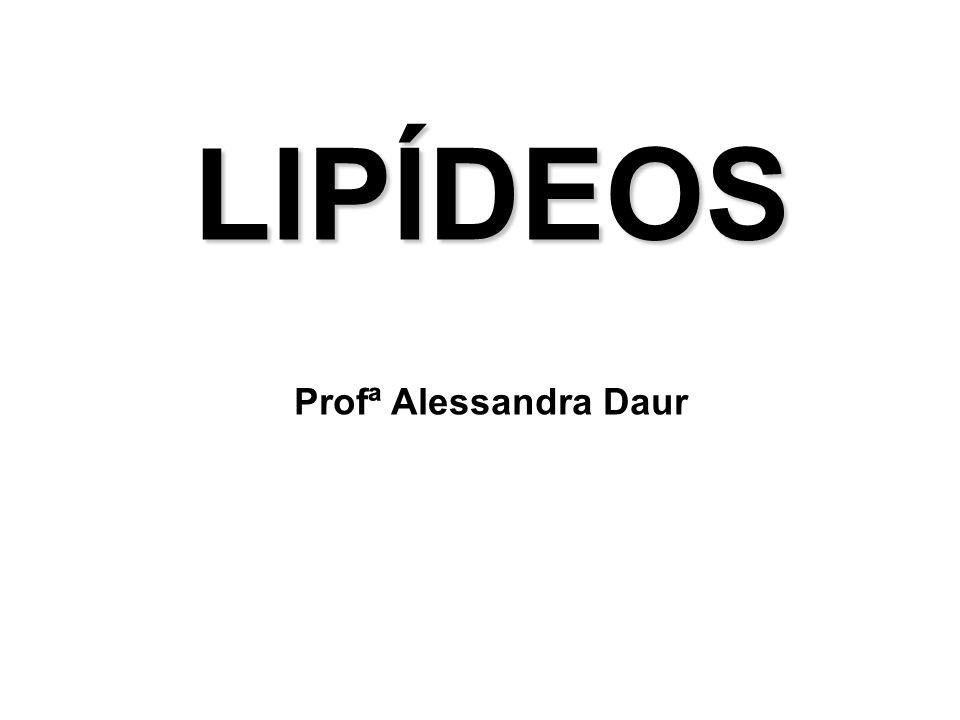 LIPÍDEOS Profª Alessandra Daur