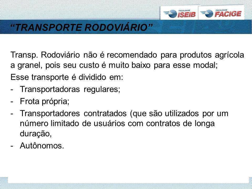 TRANSPORTE RODOVIÁRIO Transp.