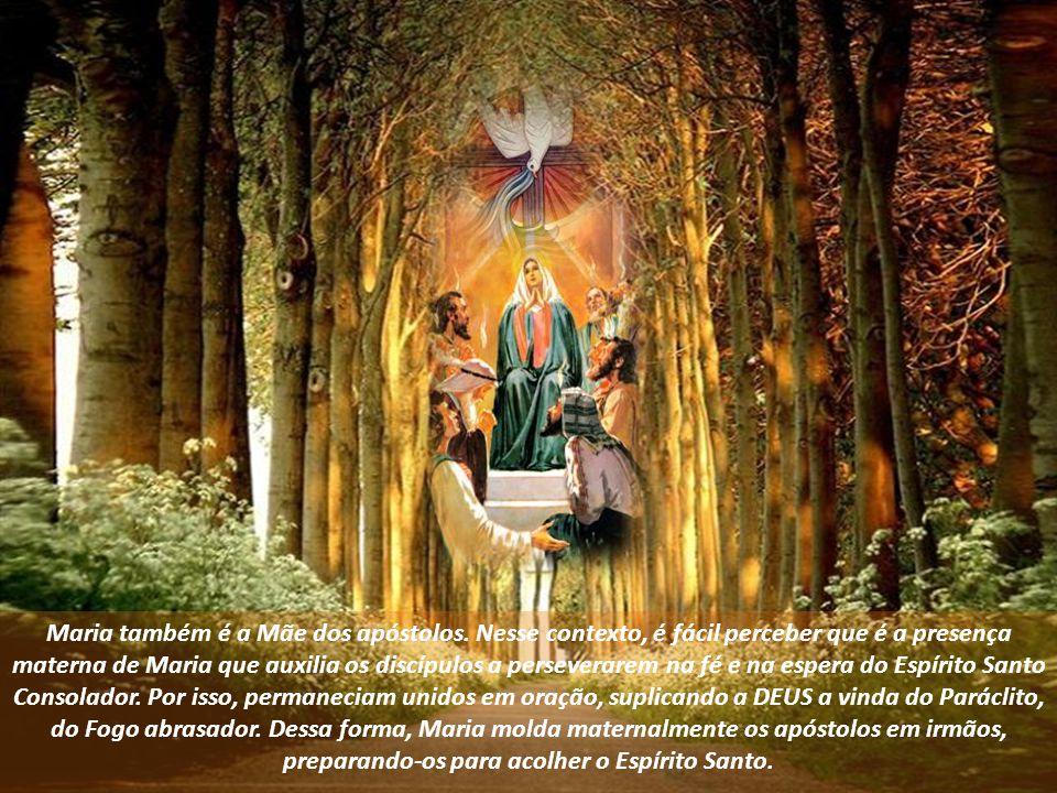 Maria também é a Mãe dos apóstolos.
