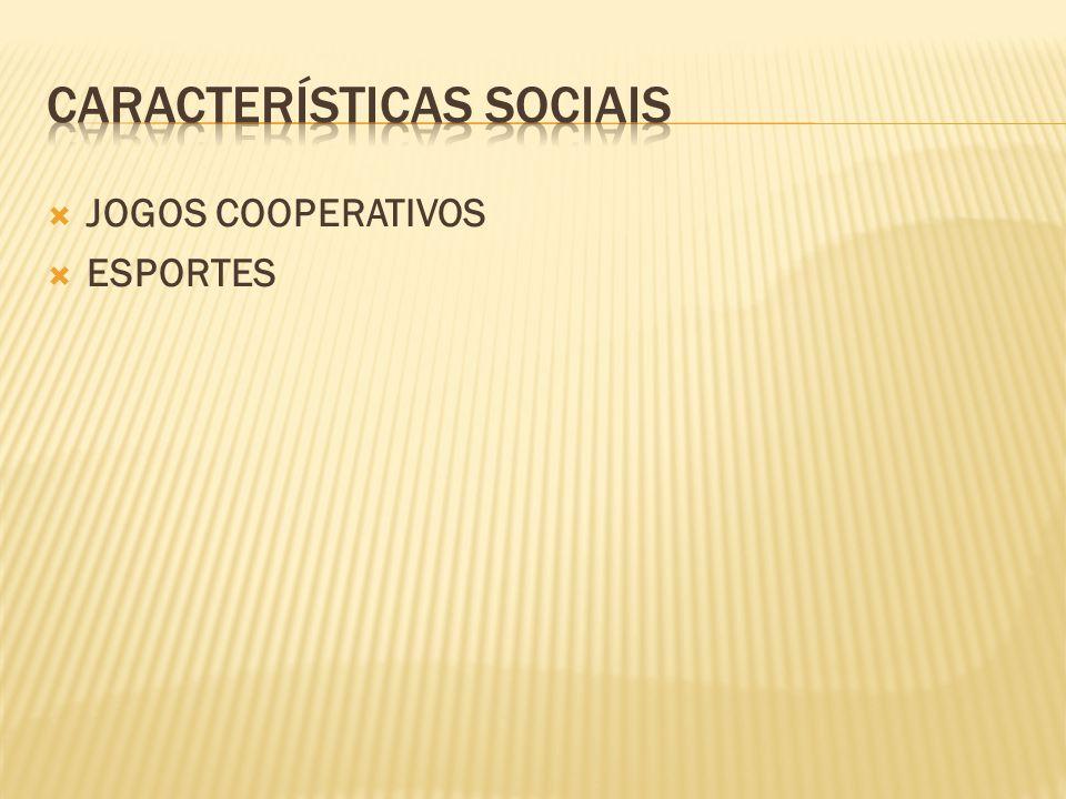  JOGOS COOPERATIVOS  ESPORTES